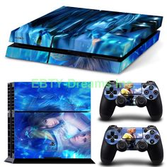 EBTY-Dreams Inc. - Sony Playstation 4 (PS4) - Final Fantasy X FF10 FFX Yuna Tidus Vinyl Skin Sticker Decal Protector