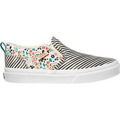 Vans - Asher - Floral Stripe.... want these so bad!!