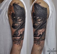 Tattoo by Lukas Zglenicki, Poland.