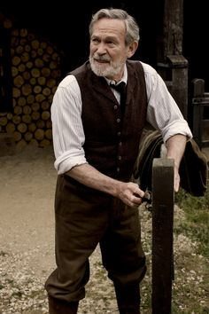 """""""Downton Abbey"""" - Mr Mason"""
