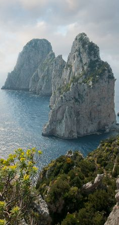 I Faraglioni , Capri, Italy   ♥ ♥ www.paintingyouwithwords.com