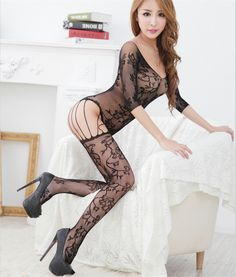 09c6148d468 Hot Sale Sexy Lingerie 3 Color Fishnet Open Crotch Body Stocking Erotic  Underwear Fishnet Bodystockings Erotic Lingerie   Price   US  5.02   Up To  18% ...