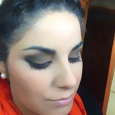Maquillaje en tono verde militar/Military green hue makeup... ✌️
