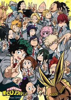 [Boku no Hero Academia] Season 2 Official Art