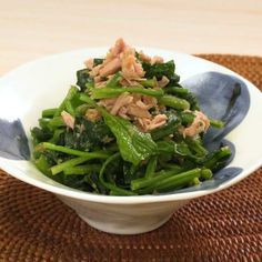 Japanese Side Dish, Japenese Food, Cooking Recipes, Healthy Recipes, Asparagus, Green Beans, Side Dishes, Recipies, Good Food