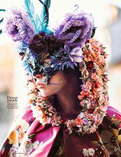 Vogue Netherlands, Flower Bomb.