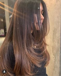 Haircuts Straight Hair, Long Hair Cuts, Brown Hair Balayage, Aesthetic Hair, Makeup Aesthetic, Long Layered Hair, Hairstyles Haircuts, Hair Looks, Hair Lengths