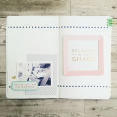 relax in the shade art journal by hopscotchlane