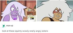 I'm calling it right now. After Jasper is redeemed it'll be like a cute sister relationship between the two
