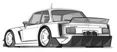 yasiddesignQuick 2002 turbo warmup sketch. Needs to be wider and more crazy. What do you think? #bmw #racecar #yasid #alyasid #yd #inbound #artomotive #design #cardesign #aftermarket #yasiddesign