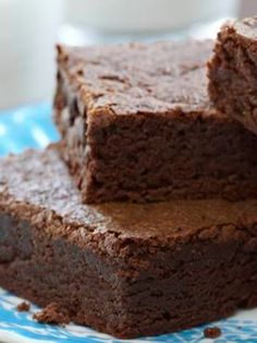 Chewy Brownies, Brownie Recipes, Cake Recipes, Dessert Recipes, Cinnamon Cupcakes, Pecan Cookies, Crunch, Brownie Bar, Summer Desserts