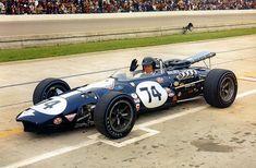 Dan Gurney - Indy 500 - Indy Eagle - 1967 - Photo Poster