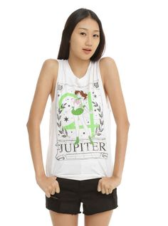 This Sailor Jupiter muscle tee.