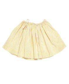 Sooty Skirt, Lemon Drop Stripe, Caramel Baby  Child. #caramelbabyandchild #ss14 #girlsskirts