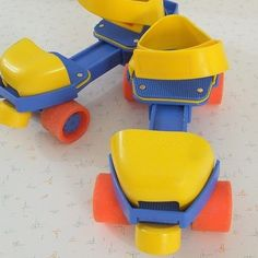 Fisher-Price adjustable rollerskates are still around. Clearly the originals are the koolest. | Here's What Your Childhood Toys Look Like Now