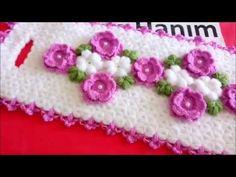 Çiçekli uzun lif yapımı - YouTube