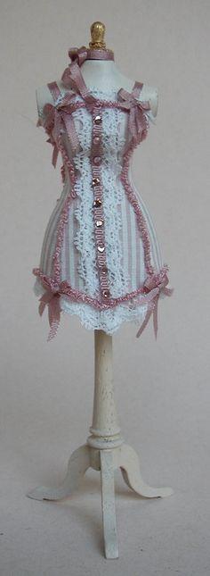 miniature dress form (dollhousse scale) by Valerie Casson
