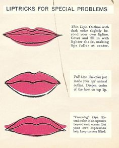3-Seven-Steps-to-a-Mad-Men-Makeover-How-to-shape-the-lips.jpg (800×996)