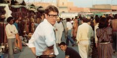 Yves Saint Laurent's love affair with Morocco began on the opulent grounds of La Mamounia. During their first visit to Marrakech, Saint Laurent and Bergé became enamored by the property's Moorish-i… Ysl, Le Marrakech, Celine, Yves Saint Laurent Paris, Paris Store, Dior, New Museum, T Magazine, Chanel