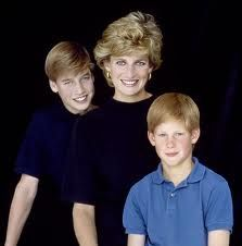 william, diana, harry