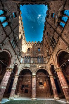 Ancient Skylight, Siena, Italy