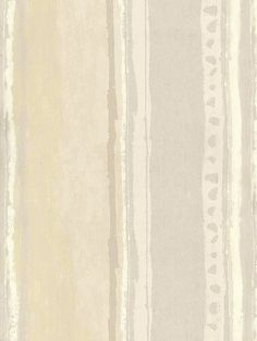 Beige and Gray Distressed Paint Look Stripe Wallpaper Taupe, Beige, Gray, Textile Patterns, Textiles, Stripe Wallpaper, Distressed Painting, Neutral Colors, Slipcovers