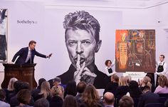 A portion of David Bowie's personal collection of fine art and design pieces has grossed $41.1 million at auction, Sotheby's announced.The art collection sold for $30.2 million on Thursday, and the design collection for an additional $10.8 million on Friday, breaking pre-sale high estimates. According to the auction house, the two-day sale set new price records for 56 artists. Jean-Michel Basquiat's 1984 paintingAir Power(pictured above), the sale's highest profile and most...