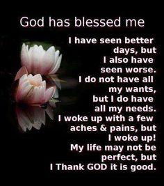 I'm Blessed <3