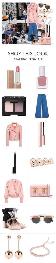 """""""Just because there's no light at the end of the tunnel does not mean you can't make it without one."""" by brownish ❤ liked on Polyvore featuring Marc Jacobs, tenoverten, NARS Cosmetics, STELLA McCARTNEY, Fendi, Too Faced Cosmetics, Le Métier de Beauté, Arme De L'Amour, Topshop Unique and Miu Miu"""
