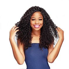 UNice Hair Wholesale Filipino Virgin Curly Hair 3 Bundles, 100% Remy Human Hair Weft Generous 6A Unprocessed Hair Natural Color 95-100g/piece (20 22 24) -- Awesome products selected by Anna Churchill