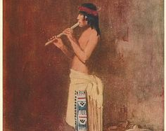 Flute Player by Fred Harvey