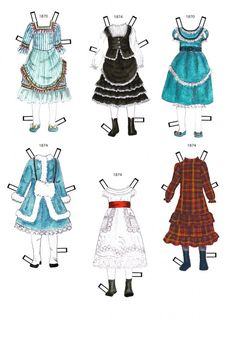 1870-1874 * 1500 free paper dolls at Arielle Gabriels The International Paper Doll Society also free paper dolls The China Adventures of Arielle Gabriel *
