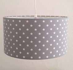 Lampenschirm grau groß 47cm NEU Sterne Hängelampe Lampe Kinderzimmer von PUNTINI in Möbel & Wohnen, Kindermöbel & Wohnen, Beleuchtung | eBay