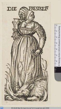 Virtuelles Kupferstichkabinett, Burgkmair d. Ä., Hans, 1510, Völlerei