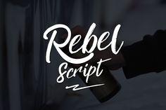 Rebel Script Brush Font