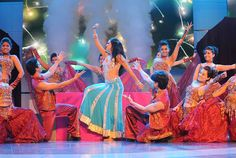 Dance Troop in Surrey, Vancouver. 2014  Read more: Diwali around the world http://desi-stylebook.com/2015/11/diwali-around-the-world/