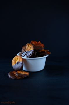 Dark Chocolate Sweet Potato Chips @Dana Shultz | Minimalist Baker