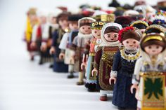 Traditional Outfits, Old And New, Charity, Greek, Presents, Costumes, Contemporary, Handmade, Playmobil
