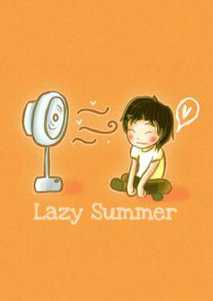 Lazy summer days...