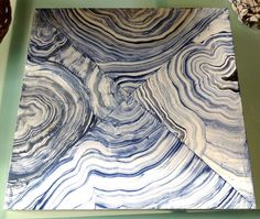 Paint this: How to paint Faux Agate-GORGEOUS SHINY THINGS
