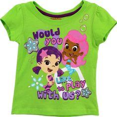 Bubble Guppies Toddler Green T-Shirt 7B7764 (2T) Nick Jr http://www.amazon.com/dp/B00HWF7HSE/ref=cm_sw_r_pi_dp_NB74tb1WYEQ1T
