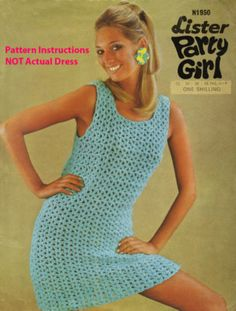 superfast swing 60s crochet pattern