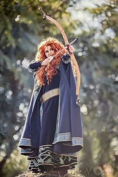 I would love to cosplay Merida some day                                                                                                                                                                                 More