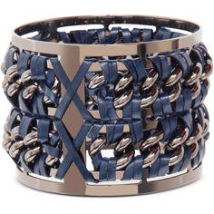 Pluma Designer Bracelets Gunmetal Brass and Navy Blue Leather Large... (1.075 BRL) ❤ liked on Polyvore featuring jewelry, bracelets, graphite, gunmetal jewelry, brass bangles, brass bangle bracelet, bracelets bangle and navy blue jewelry