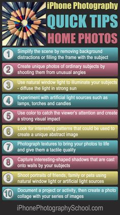 10 Quick Tips For Taking Amazing iPhone Photos At Home