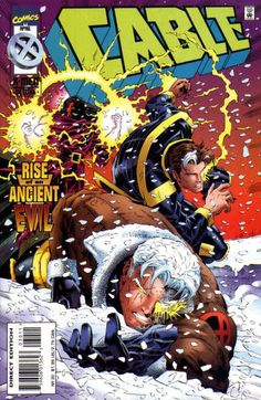 ian churchill - Cable | Cable Vol 1 30 - Marvel Comics Database