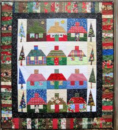 Homes For The Holidays by Jennifer Ofenstein (sewhooked.com), via Flickr