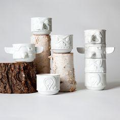 totem stackable mugs