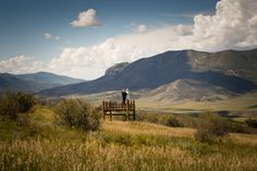 an amazing day in Steamboat Springs Colorado. Love the colors in the sky and mountains.  Sept 6
