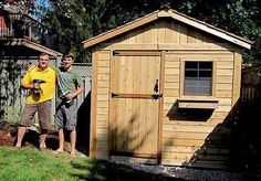 Outdoor Living Today - 8 x 8 The Gardener's Shed